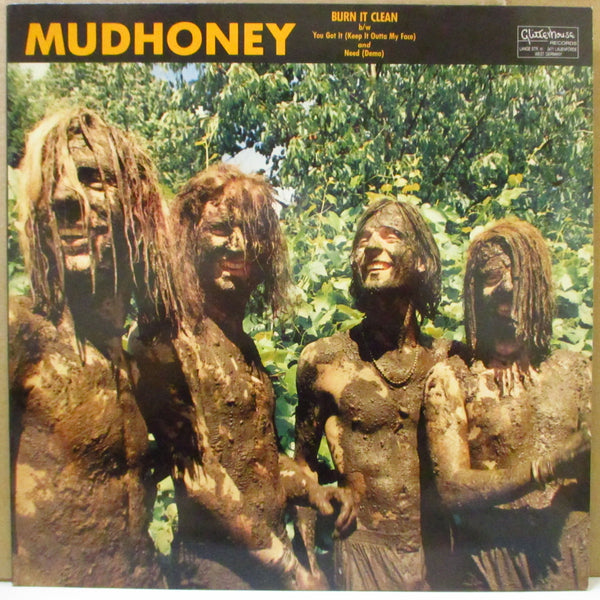 "MUDHONEY (マッドハニー)  - Burn It Clean +2 (German Orig.12"")"