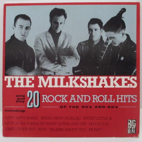 MILKSHAKES - 20 Rock And Roll Hits Of The 50's And 60's (UK Orig.LP)