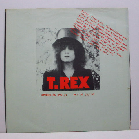 "T.REX - Solid Gold Easy Action (GERMAN Orig.7""+PS)"