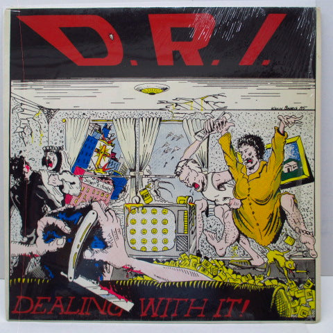 D.R.I. - Dealing With It! (US Orig.LP)