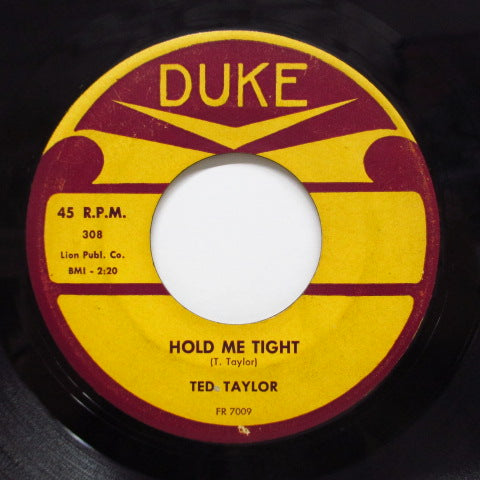 TED TAYLOR - Count The Stars / Hold Me Tight