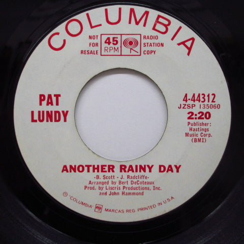 PAT LUNDY (パット・ランディ)  - Soul Ain't Nothin' But The Blues (Promo)