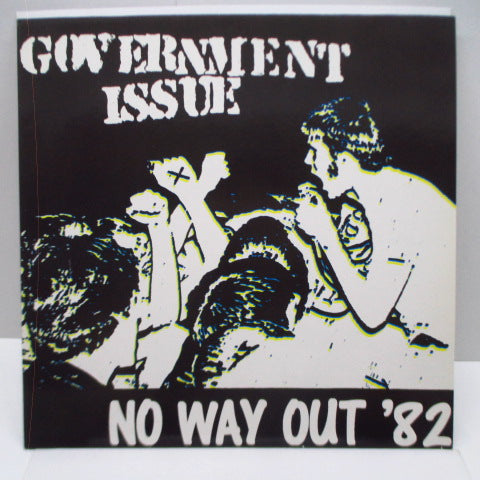 GOVERNMENT ISSUE - No Way Out '82 (German Ltd.Green Vinyl LP)