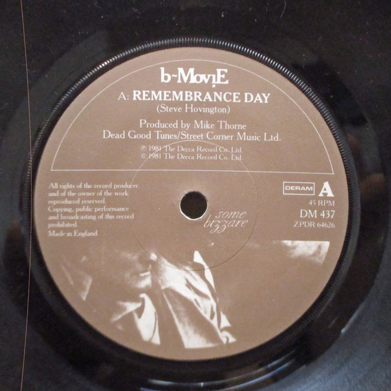 "B-MOVIE - Remembrance Day (UK Orig.7""/Paper Lbl.)"