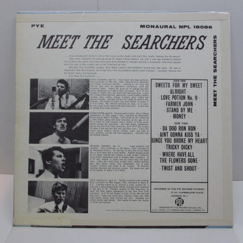 SEARCHERS - Meet The Searchers (UK:Orig MONO/CFS)