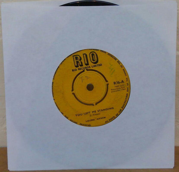 "LAUREL AITKEN  - You Left Me Standing / Bag-A-Boo (UK Orig.7"")"