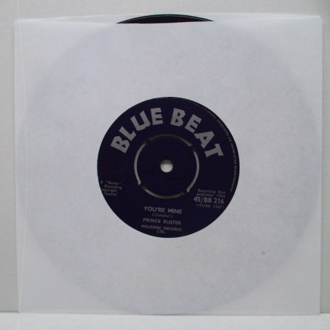 "PRINCE BUSTER - You're Mine (UK Orig.7"")"