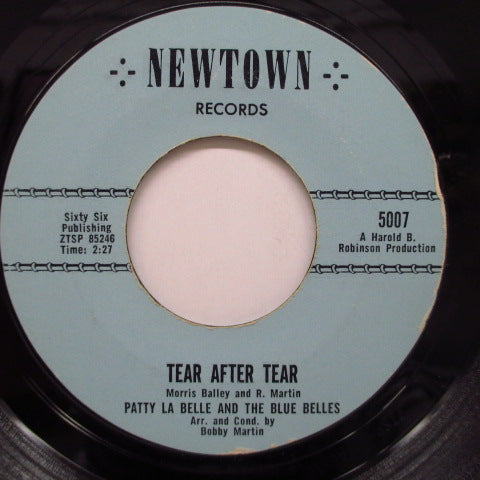 PATTI LABELLE & THE BLUE BELLES - Tear After Tear (Orig.Top Logo)
