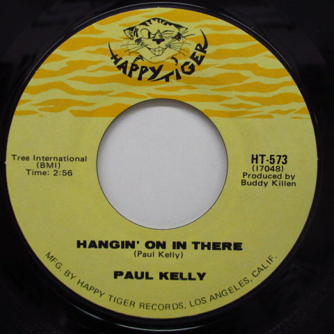 PAUL KELLY - Soul Flow / Hangin' On In There
