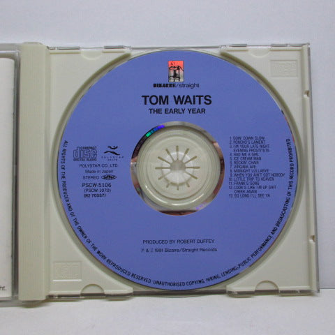 TOM WAITS - The Early Years (Japan Orig.CD/PSCW-5106)