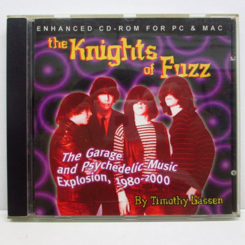 V.A. - THE KNIGHTS OF FUZZ (Canada Enhanced CD-ROM)