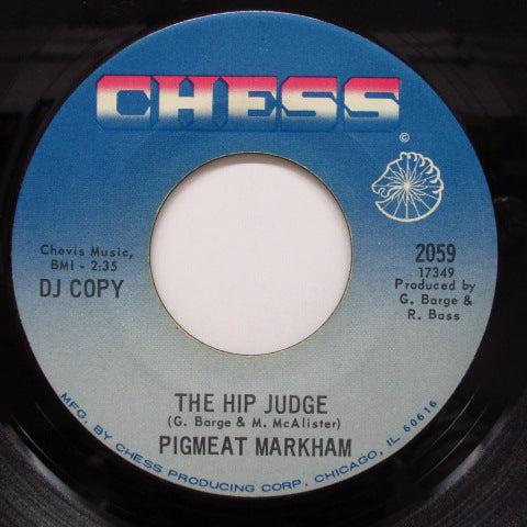 PIGMEAT MARKHAM - Sock It To 'Em Judge (Promo)