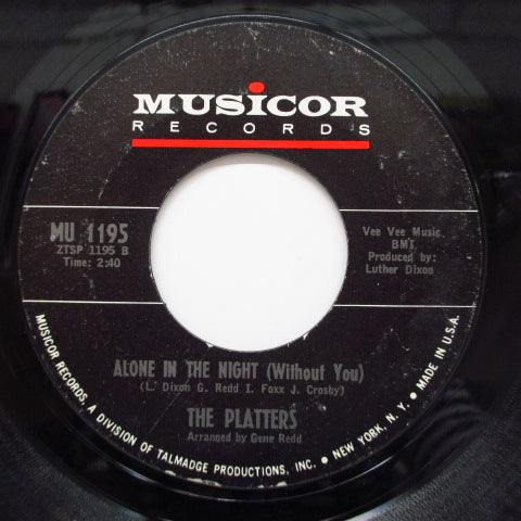 PLATTERS - Devri / Alone In The Night (Without You)