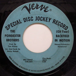 POINDEXTER BROS. - (Git It) Backfield In Motion (Promo)