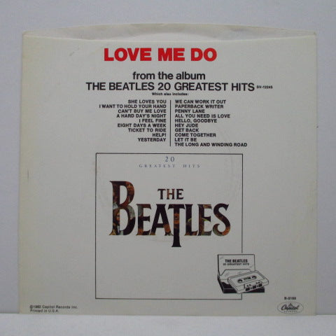 "BEATLES - Love Me Do (US '82 Reissue 7""+PS)"