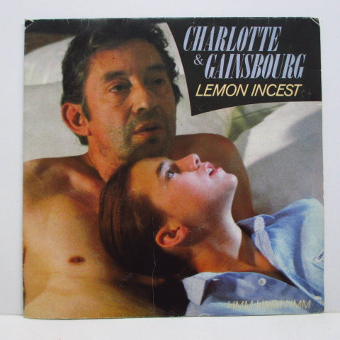 "CHARLOTTE & GAINSBOURG - Lemon Incest (France Orig.7""+PS)"