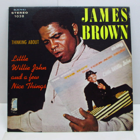 JAMES BROWN - Thinking About Little Willie John A Few Nice Things (US Orig.Stereo LP)