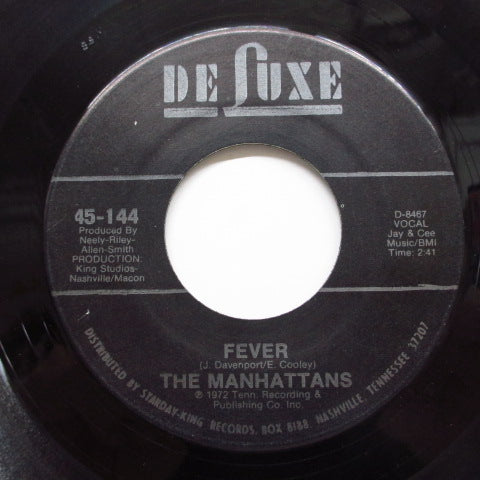 MANHATTANS - Back Up / Fever