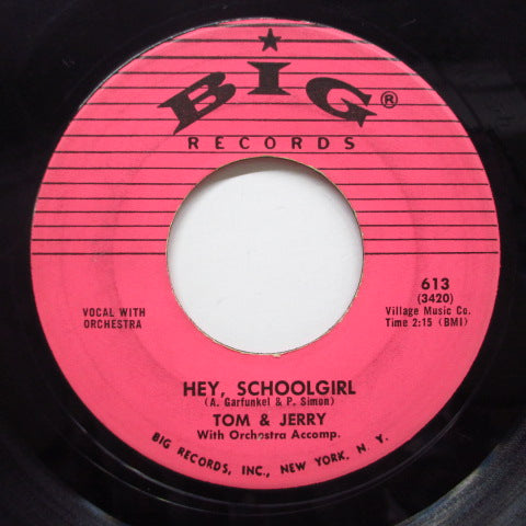 TOM & JERRY - Hey School Girl (2nd Press)