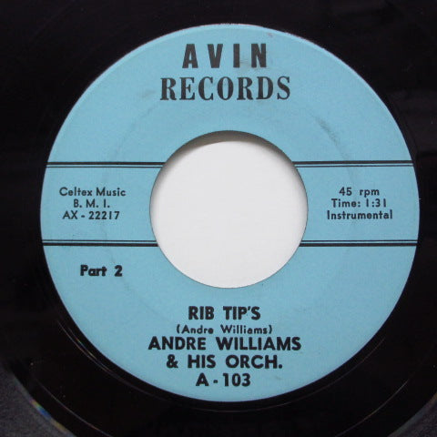 ANDRE WILLIAMS - Rib Tip's (Part 1 & 2)