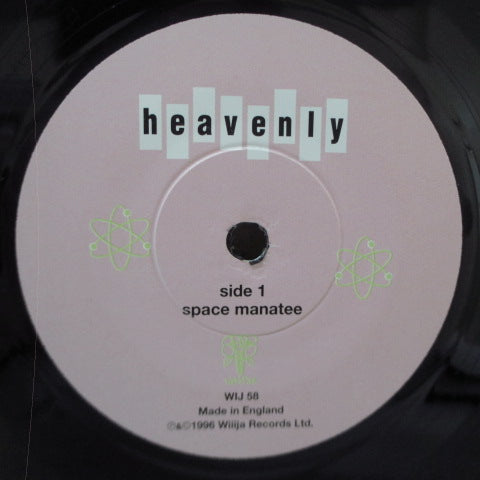 "HEAVENLY - Space Manatee +2 (UK Orig.7""+PS)"