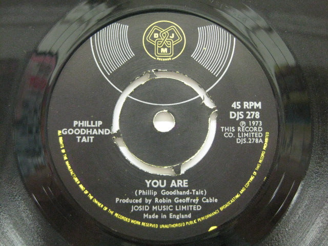 PHILLIP GOODHAND TAIT - You Are / Five Flight Walk Up