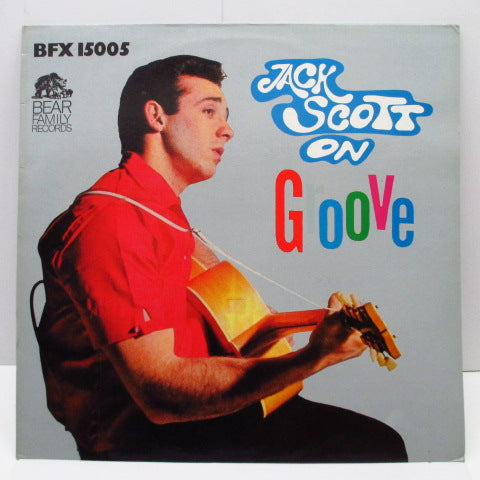 JACK SCOTT - On Groove (German Orig.LP)