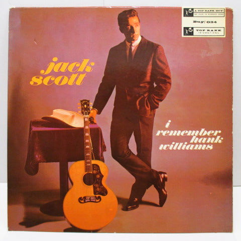 JACK SCOTT - I Remember Hank Williams (UK Orig.Mono LP/CFS)