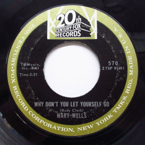 MARY WELLS - Never, Never Leave Me (Orig)