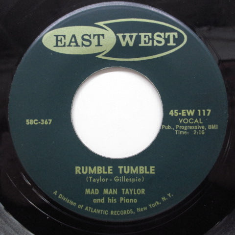 MAD MAN TAYLOR - Rumble Tumble (US Orig)