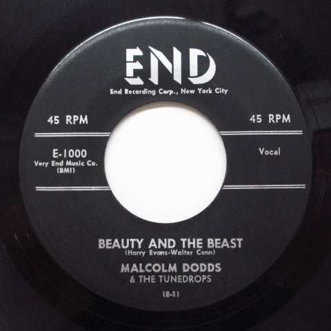 MALCOLM DODDS & THE TUNEDROPS - Beauty And The Beast (Orig)
