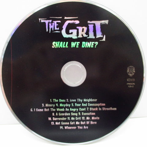 GRIT, THE - Shall We Dine? (German Orig.CD)