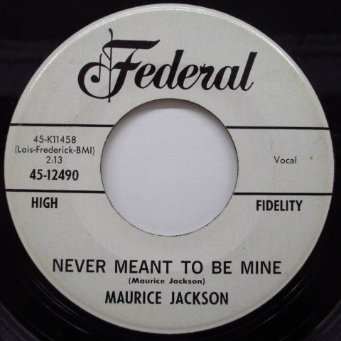 MAURICE Jackson - Why Did She Leave Me (Promo)