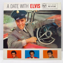 ELVIS PRESLEY - A Date With Elvis (UK'64年Re/Red Spot Logo)