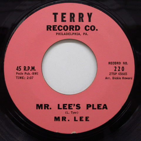 MR.LEE - Mr.Lee's Plea / Dear One