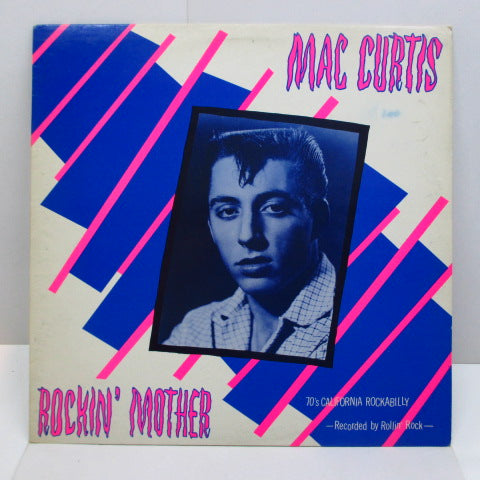 MAC CURTIS - Rockin' Mother (UK Orig.LP)