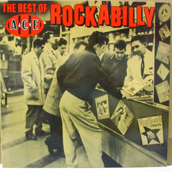 V.A. - The Best Of Ace Rockabilly (UK 80's Re Mono LP)