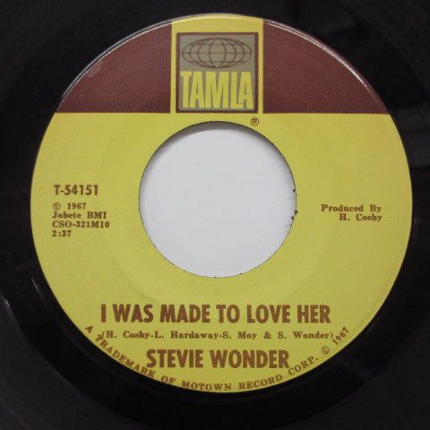 STEVIE WONDER - I Was Made To Love Her (Orig)