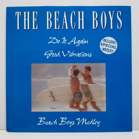 BEACH BOYS - Do It Again (UK:'91 LTD 45!)