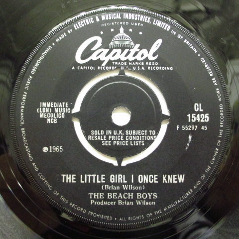 BEACH BOYS - The Little Girl I Once Knew (UK)