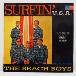 BEACH BOYS - Surfin' U.S.A. (FRANCE:Orig.EP!)