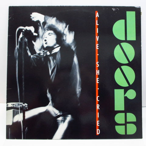 DOORS - Alive, She Cried (GERMAN Orig.LP)
