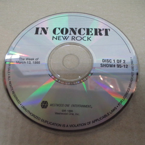 HOLE-In Concert New Rock (US Promo.CD)