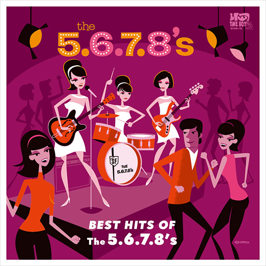 5.6.7.8'S - BEST HITS OF THE 5.6.7.8'S (CD)