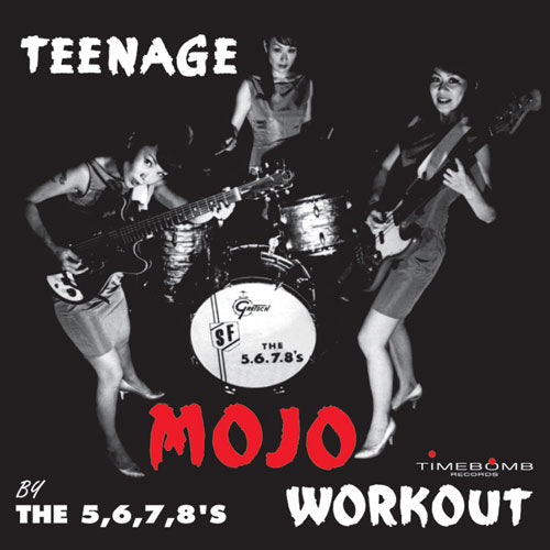 5.6.7.8'S - TEENAGE MOJO WORKOUT (限定紙ジャケCD)
