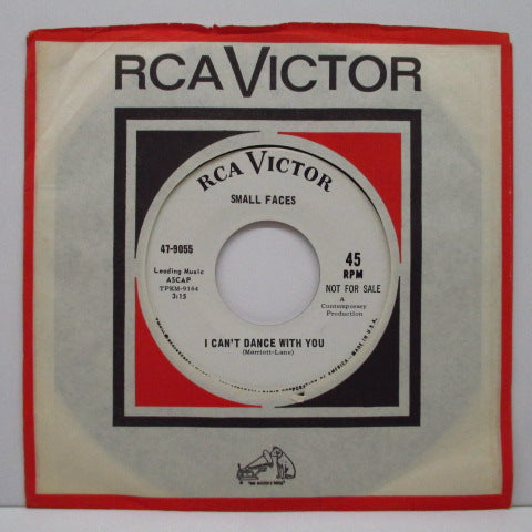 "SMALL FACES - My Mind's Eye (US Promo 7""+CS)"