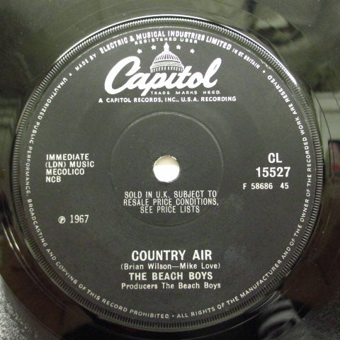 "BEACH BOYS - Darlin' / Country Air (UK Orig.7"")"