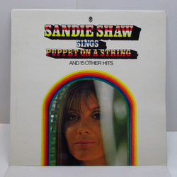 SANDIE SHAW - Sings Puppet On A String (UK WRC STEREO LP/CFS