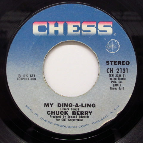 CHUCK BERRY - My Ding-A-Ling (Light Blue Label)