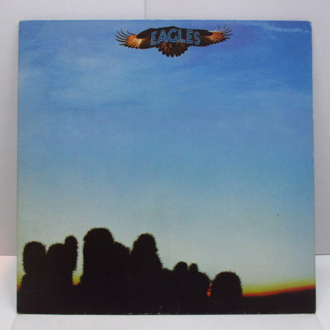 EAGLES - Eagles (1st) (UK '72 EMI Rim/Cut Inner)
